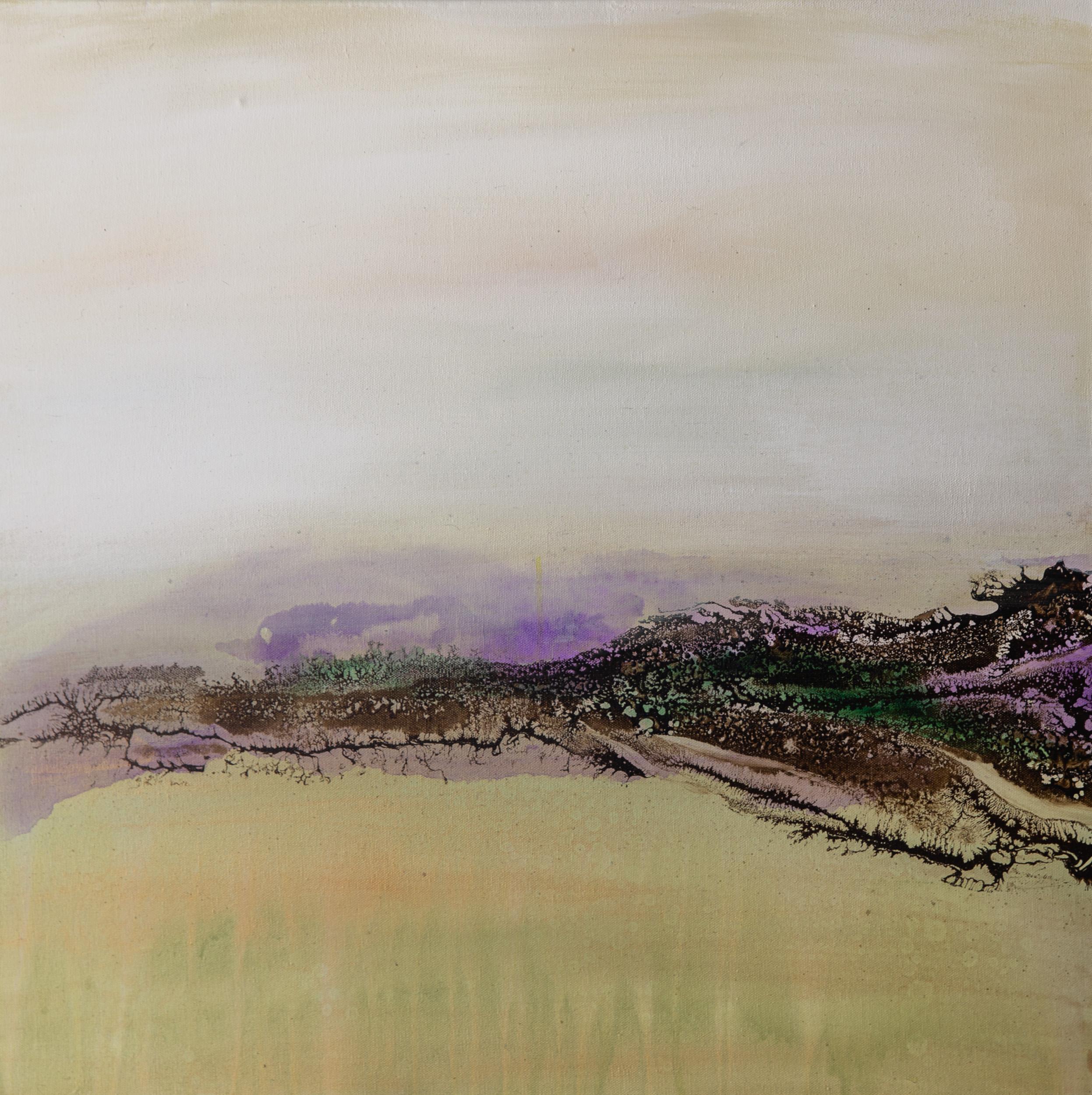 """""""Lavender & Lace I"""" 24x24"""