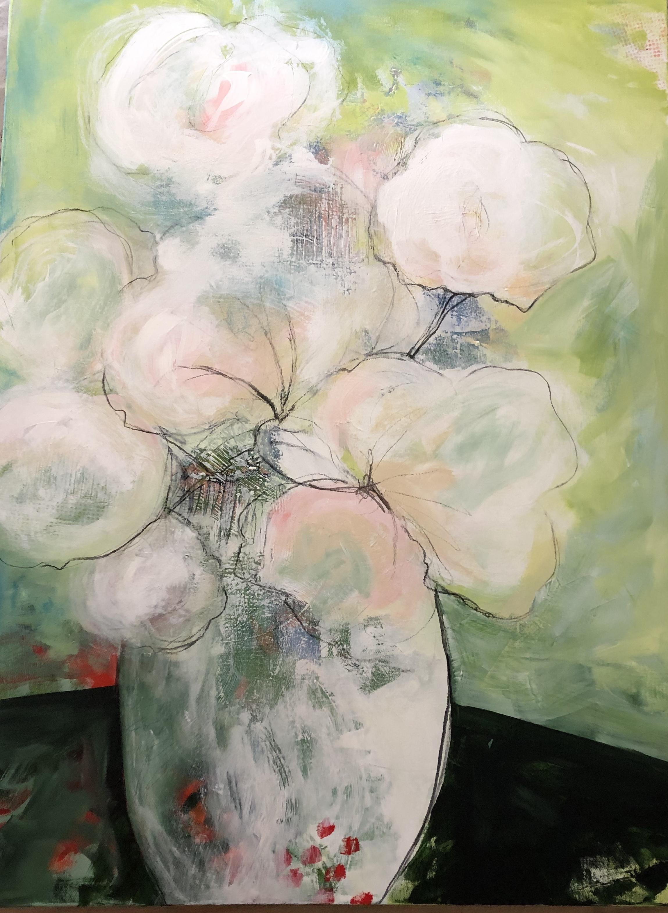 """""""In Full Bloom"""" 30x40"""
