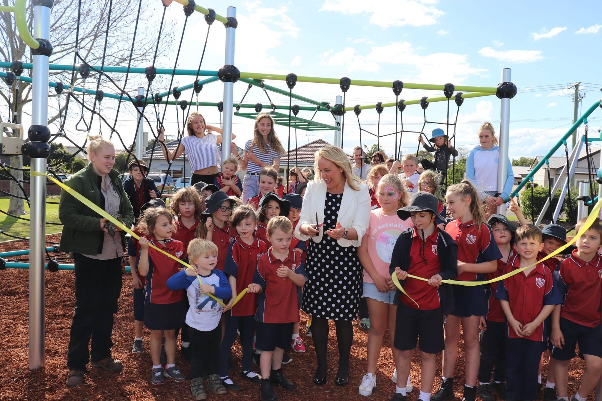 We're working hard to improve our parks and playgrounds across the City of Newcastle