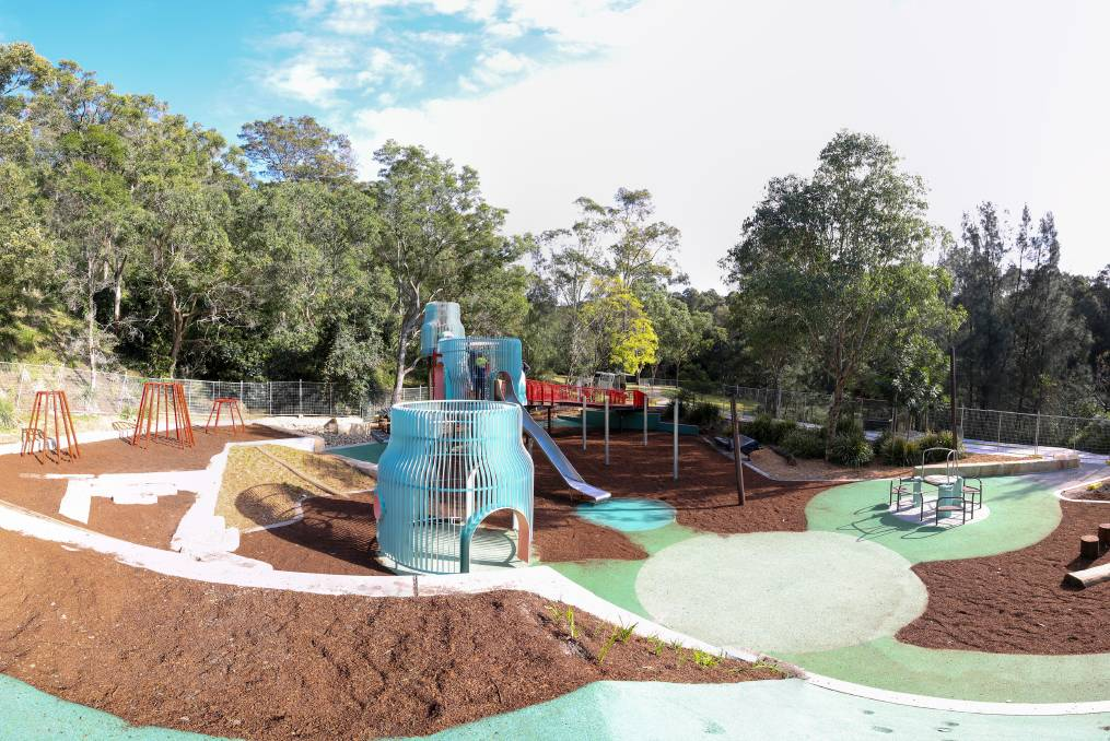 Fun for everyone: The new playground at Richley's Reserve will be holding an open day this Saturday.