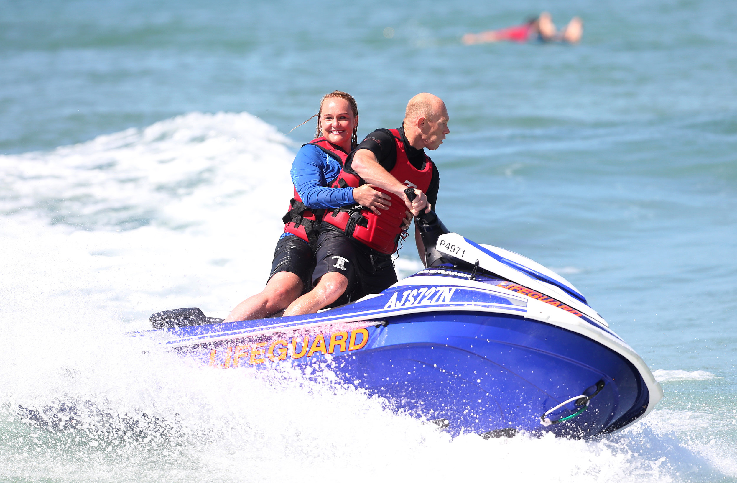 Catching a wave on City of Newcastle's new high-powered, light-weight jet ski
