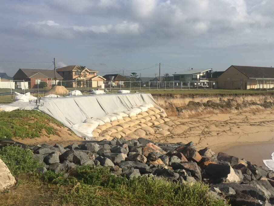 PRIORITY: City of Newcastle Lord Mayor Nuatali Nelmes says the council's priority is keeping the community safe and ensuring Stockton is a usable beach.