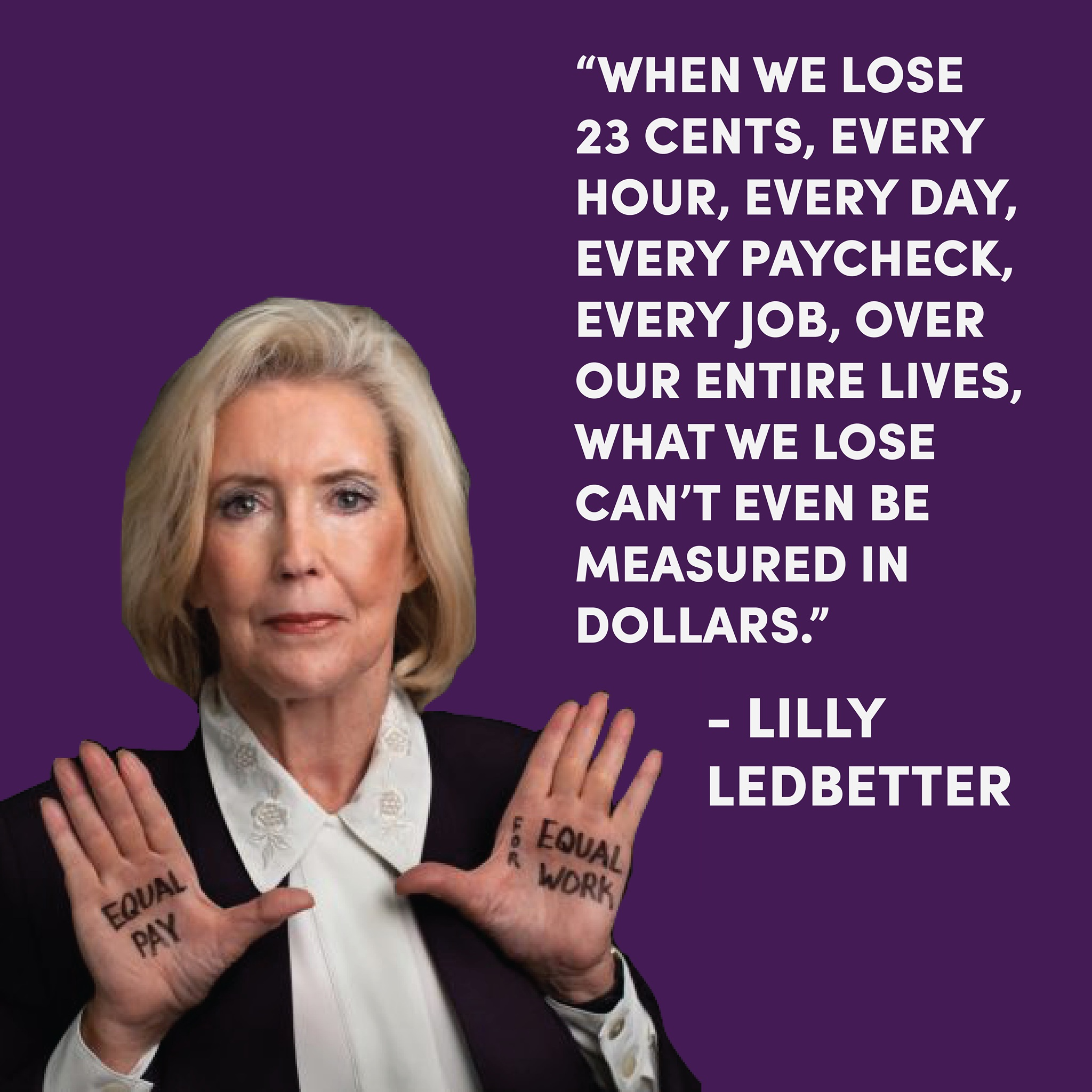 Twenty years ago, Goodyear tire plant manager Lilly Ledbetter came to work one morning to find an anonymous note in her mailbox: it listed her salary, which was a fraction of what other male managers at Goodyear were making. Until this moment, Ledbetter was entirely unaware of her salary difference. Upon being hired, she had signed an agreement that prohibited her from discussing pay with her coworkers, effectively silencing her employer's discriminatory pay practices. As a silence-breaker of her time, Ledbetter courageously brought her case to the Supreme Court. She became the champion of what would become a national movement for equal pay.   Ledbetter's story transcends the fight for equal pay: in the wake of the #MeToo movement, we are reminded that cultures of silence – ones that are both legally and culturally reinforced -- have the ability to stall, stunt and end careers. More importantly, it is a prologue to what must become a higher standard for transparency, accountability and equality in workplaces across the country.