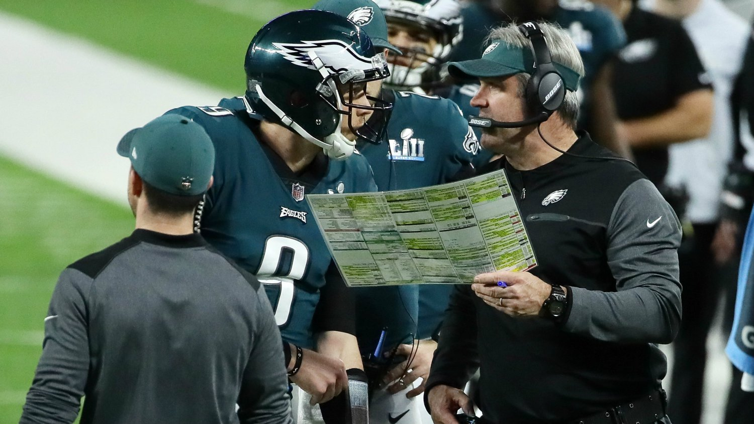 Doug Pederson Was Aggressive As Always - Doug never let his foot off the gas.