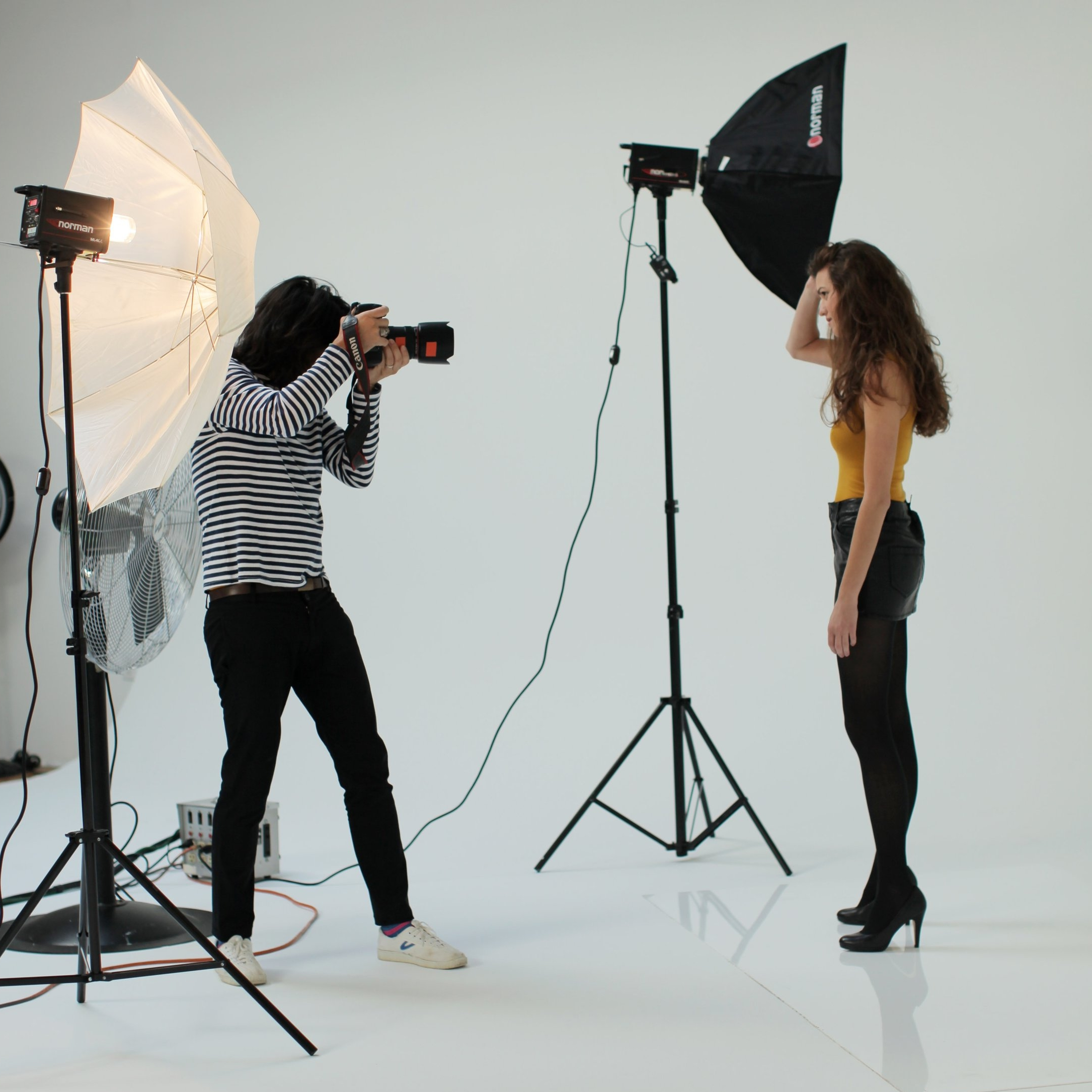 national-level photo shoot - With a celebrity fashion, beauty, and commercial photographer, including 50-100 images with full printing & posting rights