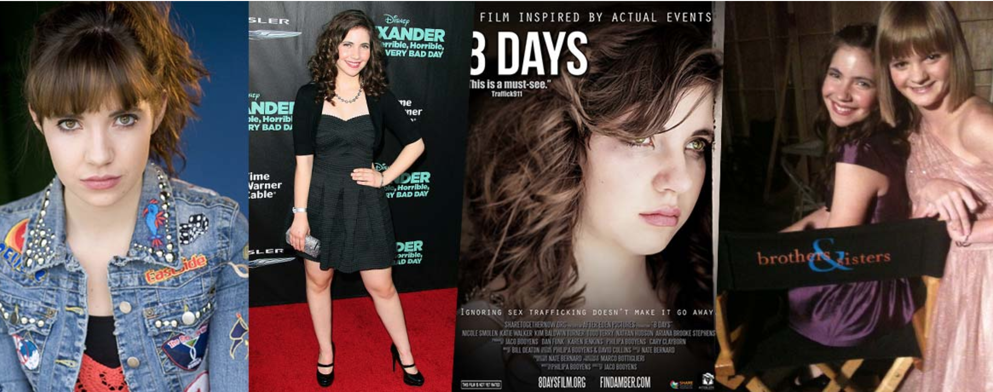 Nicole Smolen grew up from a child star to a teen starring in the international film, 8 Days, about human trafficking.