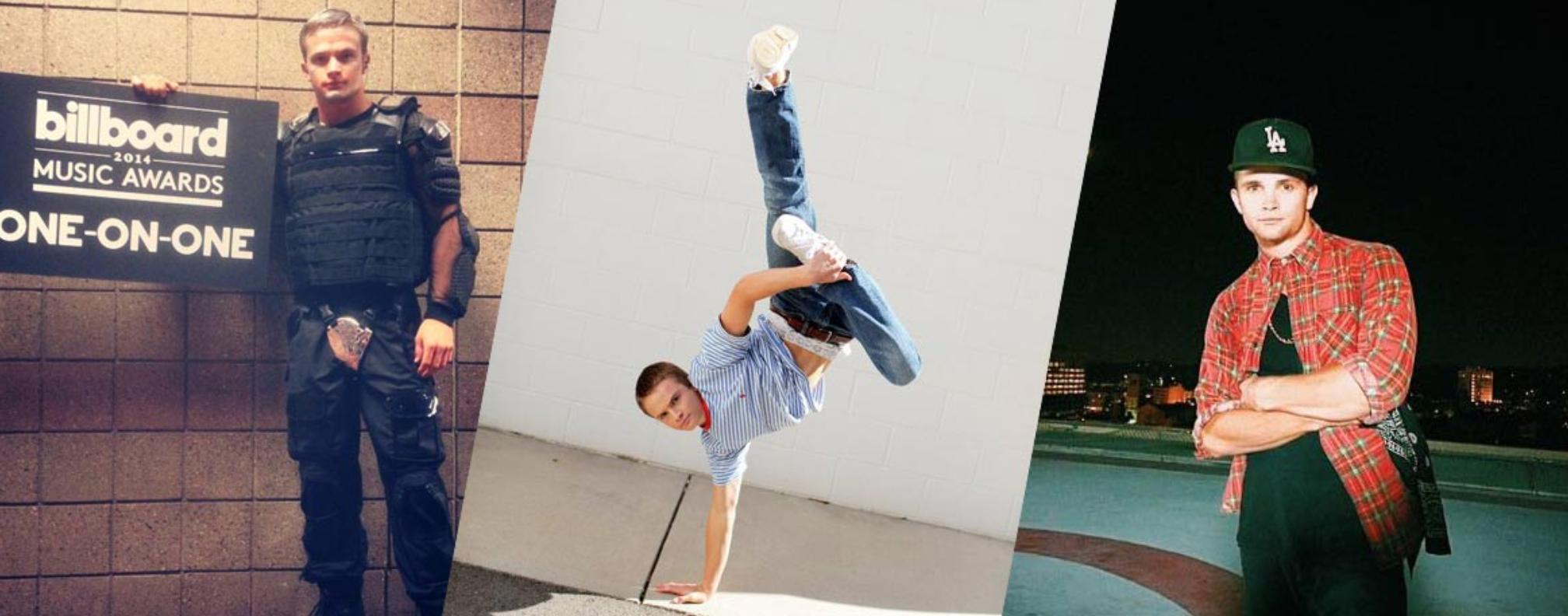 Asher Walker is a dancer with some pretty cool credits. He's also formed a dance ministry to help kids.