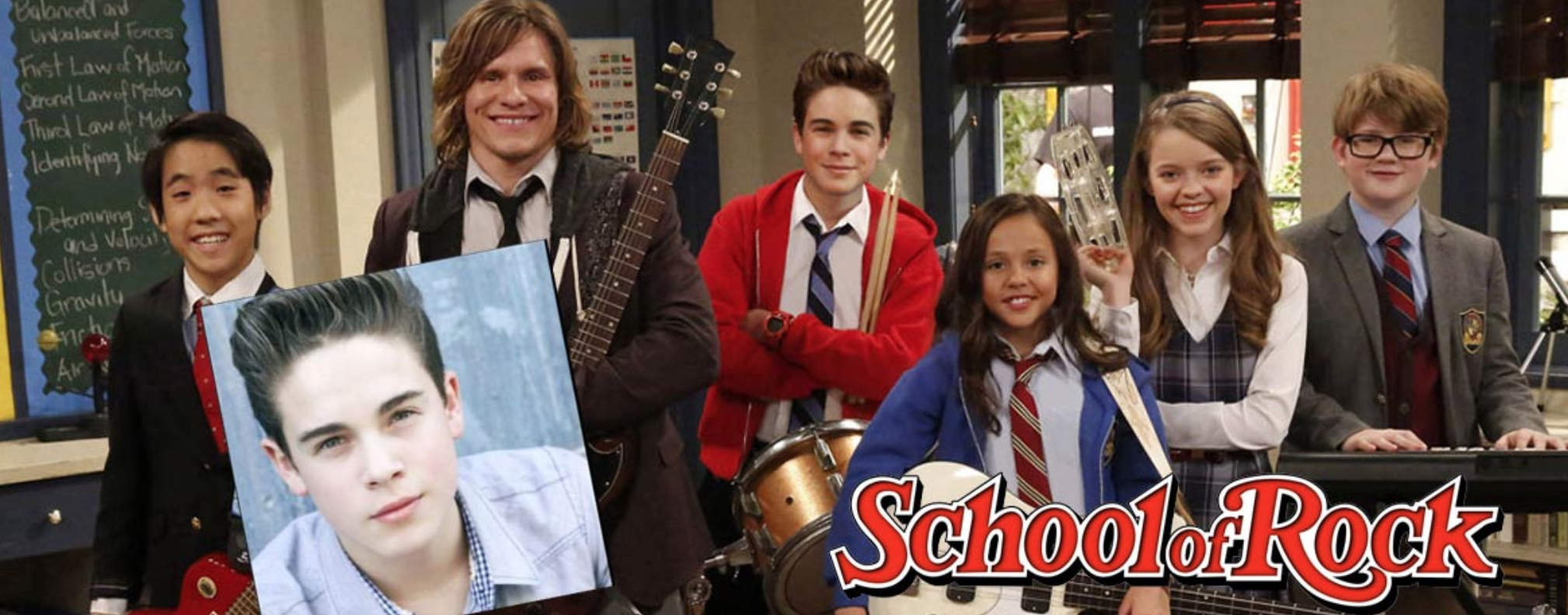 Ricardo Hurtado (now 18) has now been starring on School of Rock for three seasons, in addition to pursuing his music.