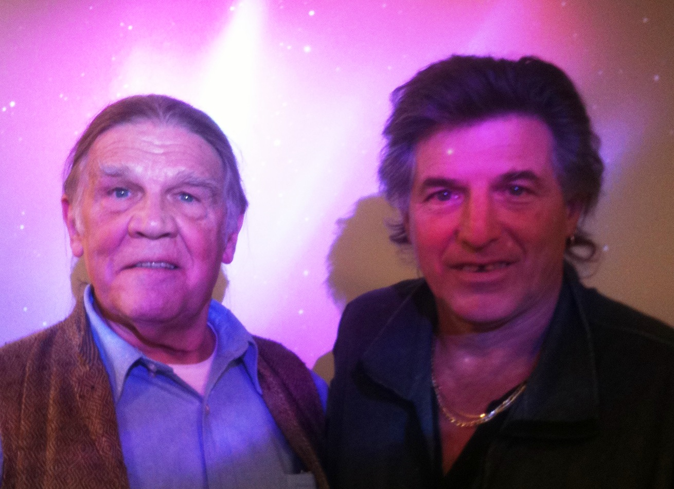 Peter Payack with iconic rock and roll photographer, Henry Diltz.