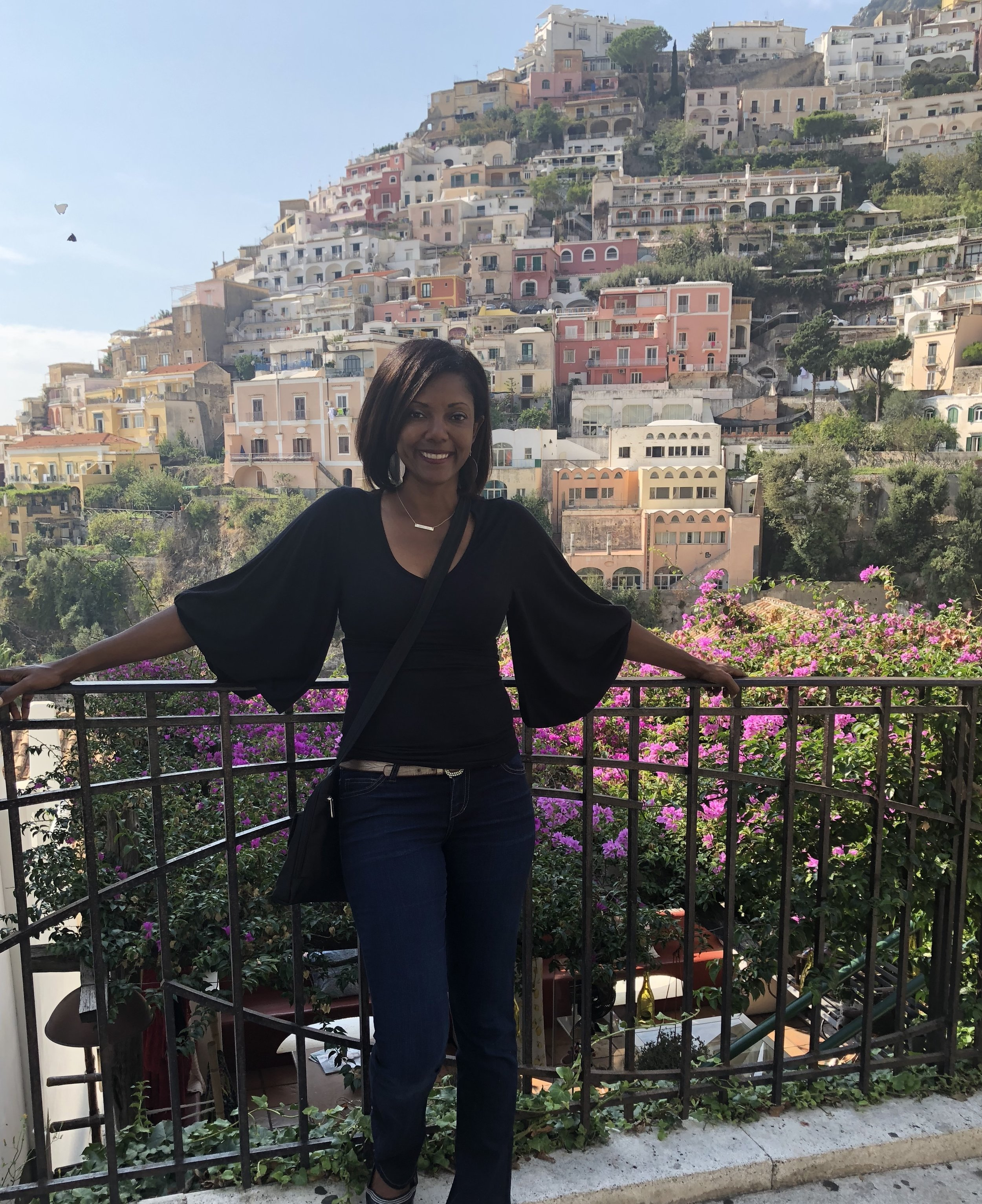 Quick visit to Positano (picturesque town considered the jewel of the coast)