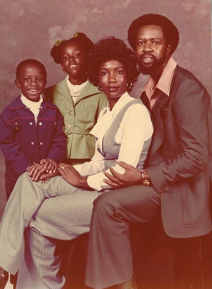 Family Photo taken in 1978