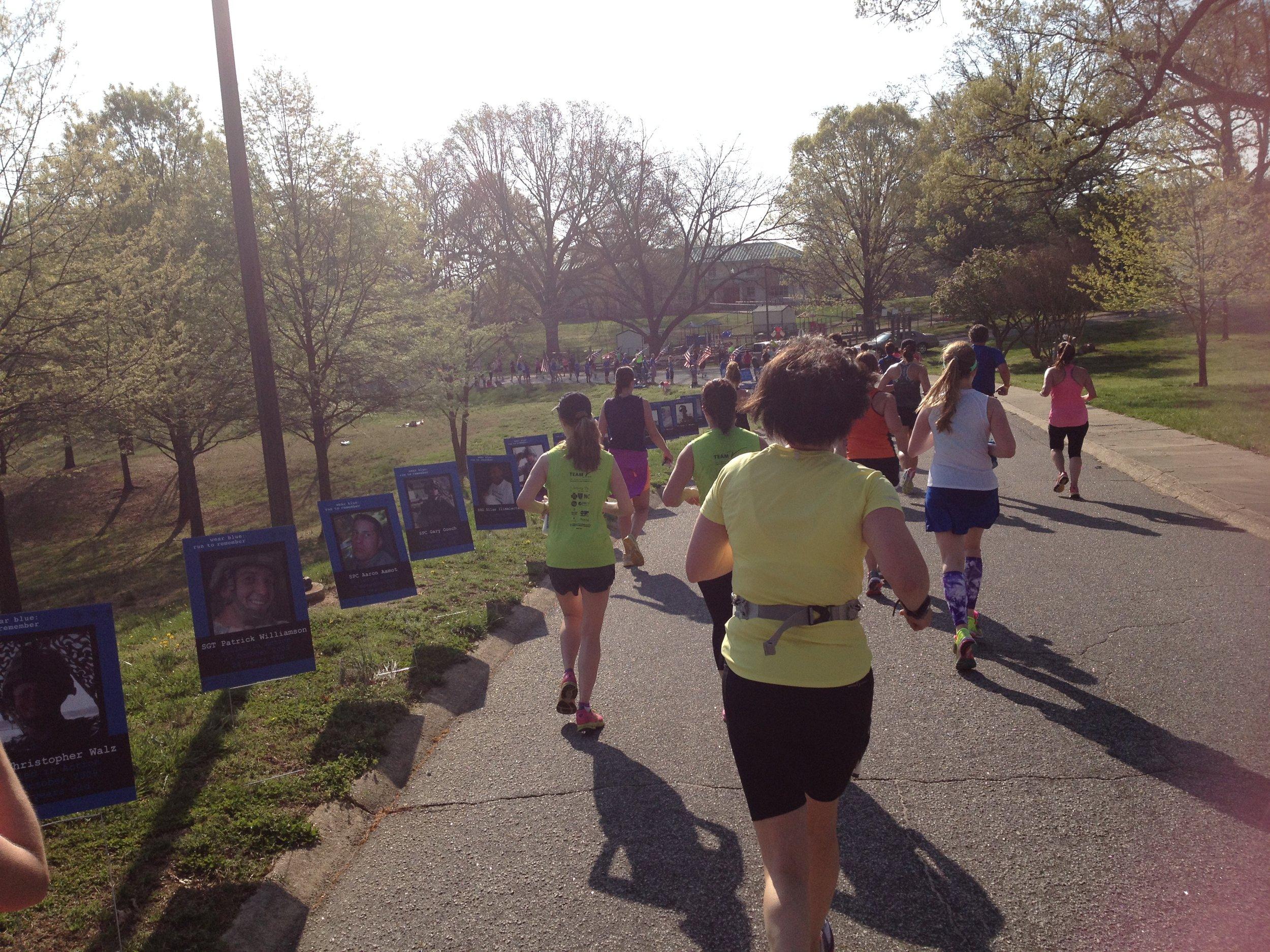 Rock 'N' Roll Raleigh Half Marathon —Photo taken: April 14, 2014