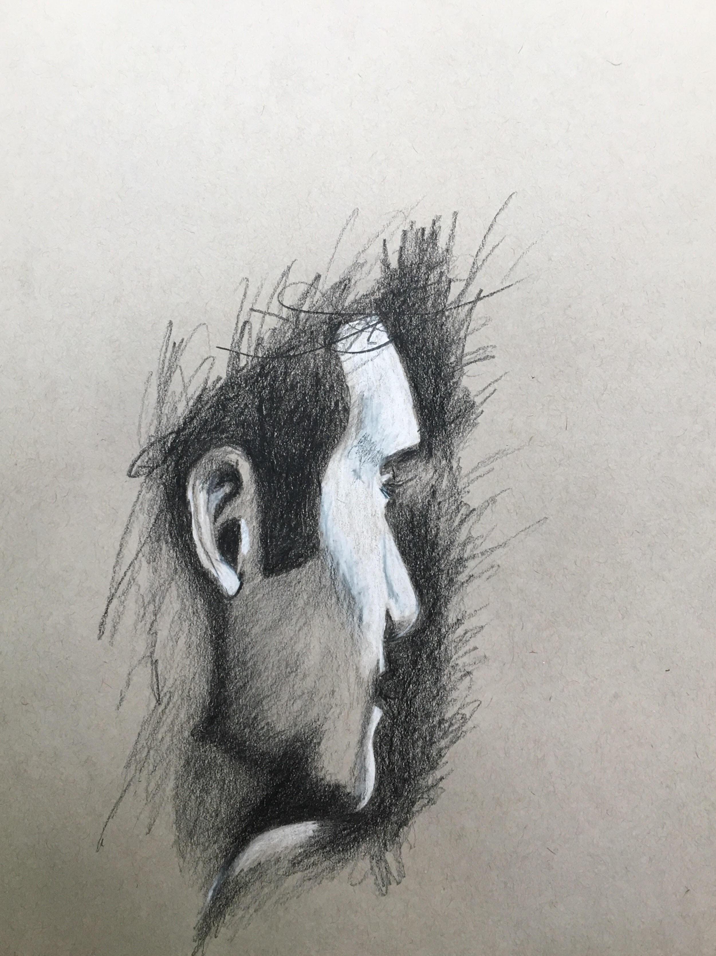 Pencil  9 x 12  2019