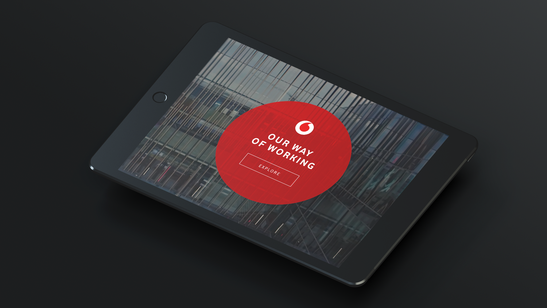 DEMONSTRATING A digital workplace - Vodafone