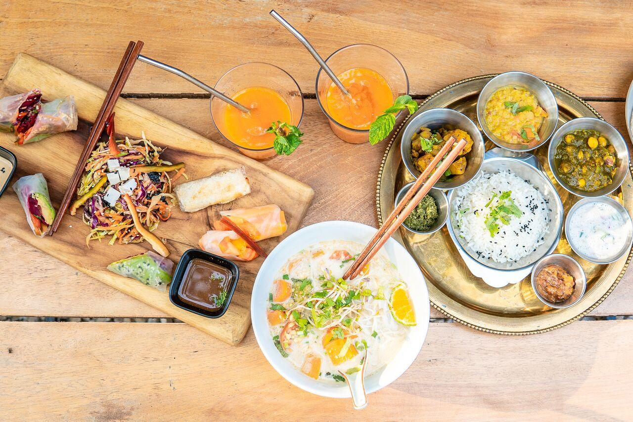 Asian Fusion vegan food