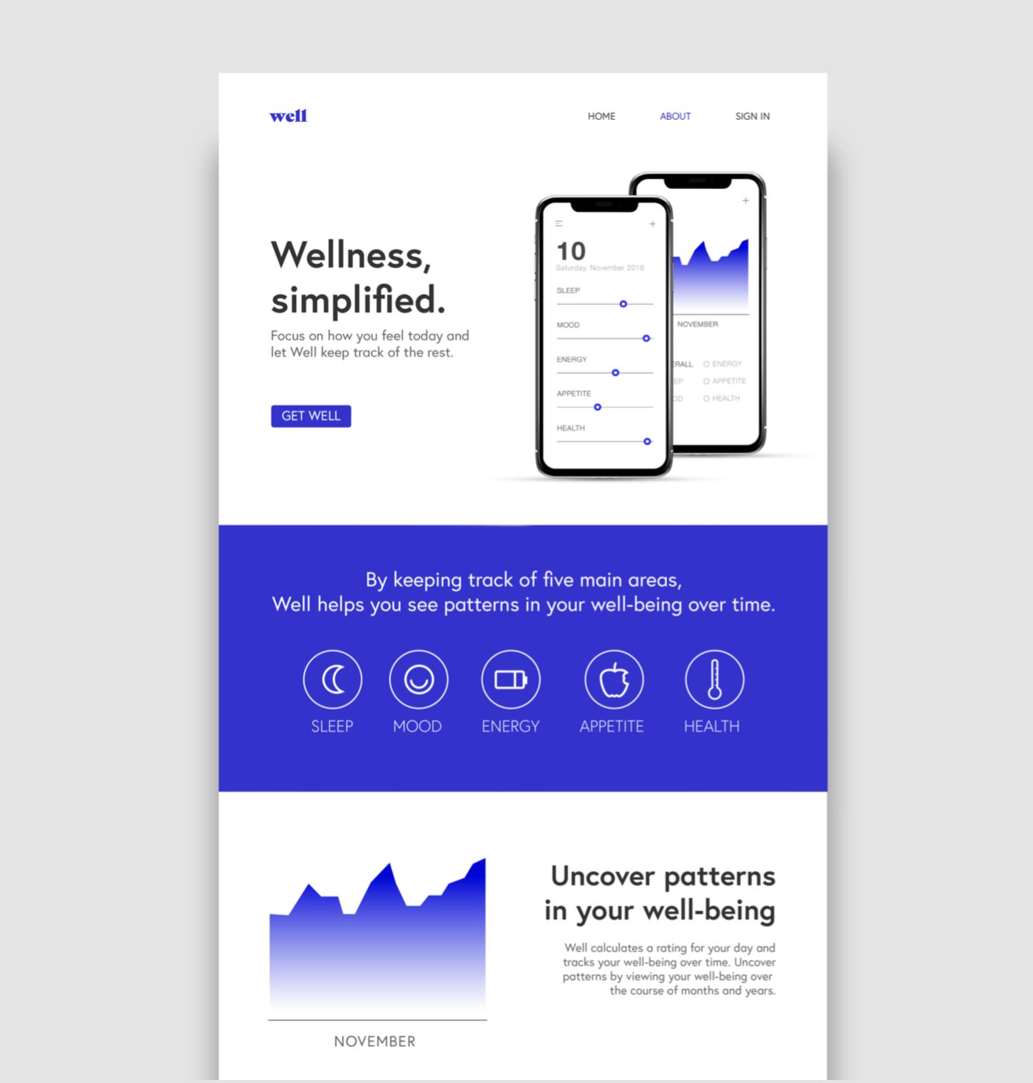 App design by student Megan Calvin
