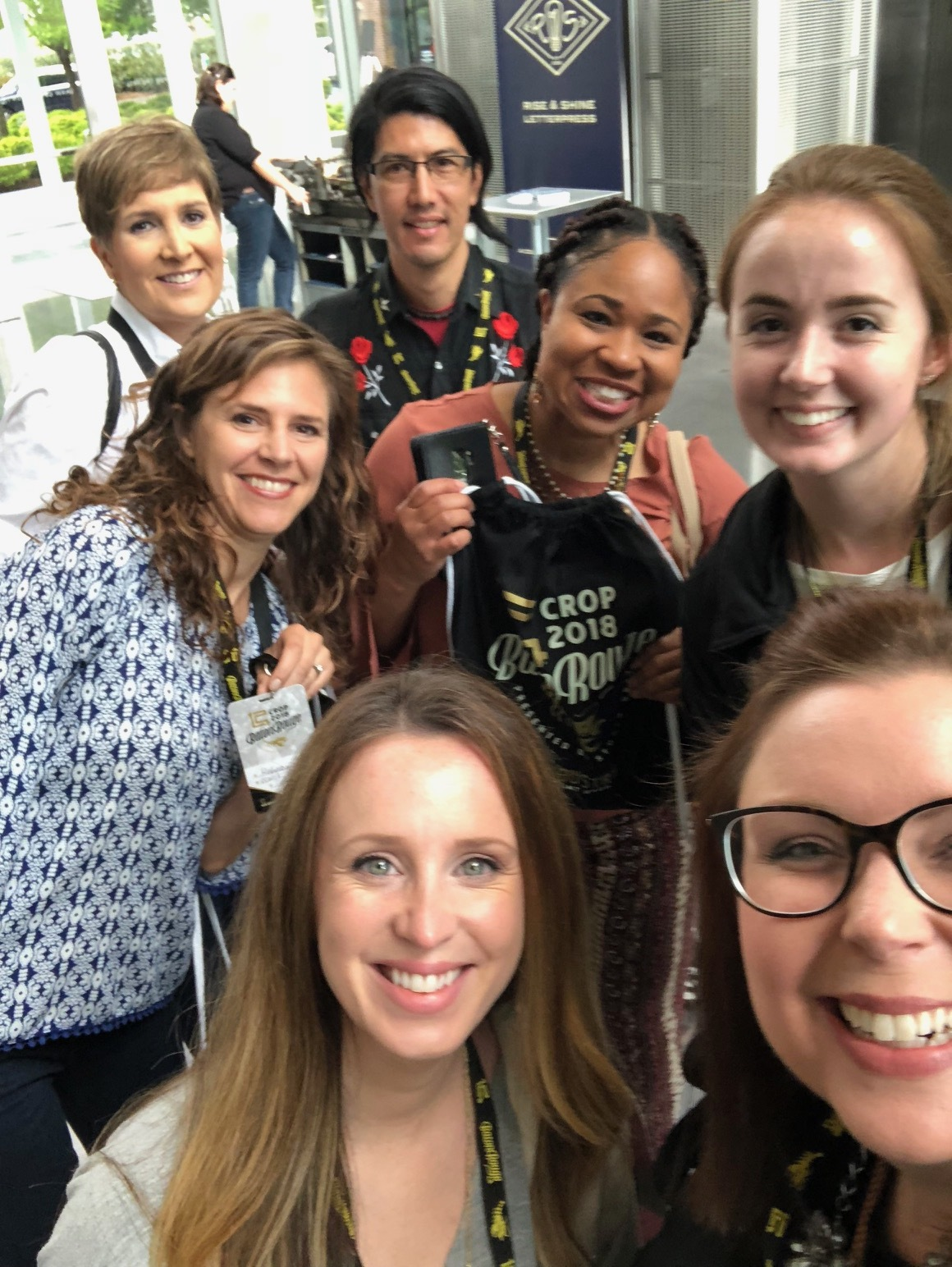 CROP BATON ROUGE CONFERENCE 2018 WITH FACULTY AND STUDENTS!