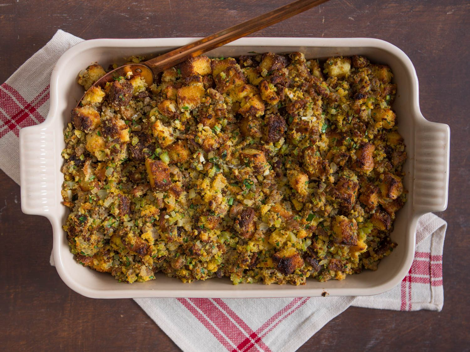 Cornbread Stuffing - Photo courtesy of Serious Eats