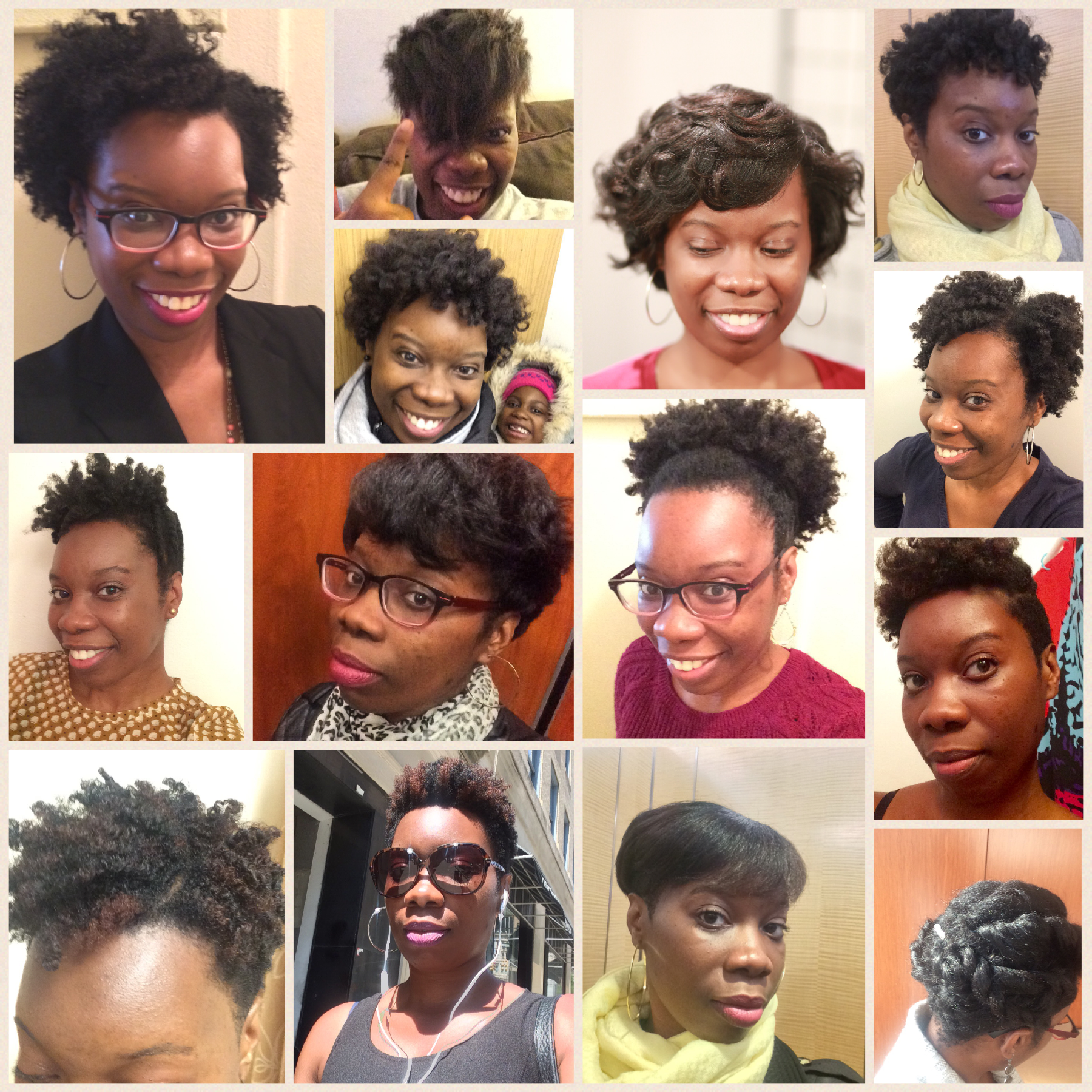 The various hairstyles of simplykatricia