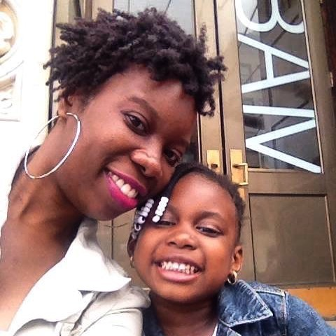 #tbt to one of our favorite pics. She was so cute,and listened. 🙄 ✨ #parenting #simplykatricia #naturalhair #lifestyleblogger #mom #BAM #nyc #brooklyn #statenisland