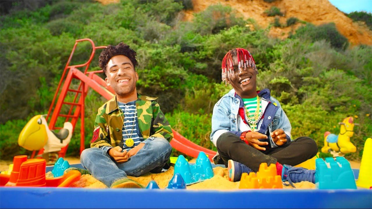 Trecho do clipe de iSpy feat Lil Yachty - De forma irônica e infantil retrata a ostentação e drogas.