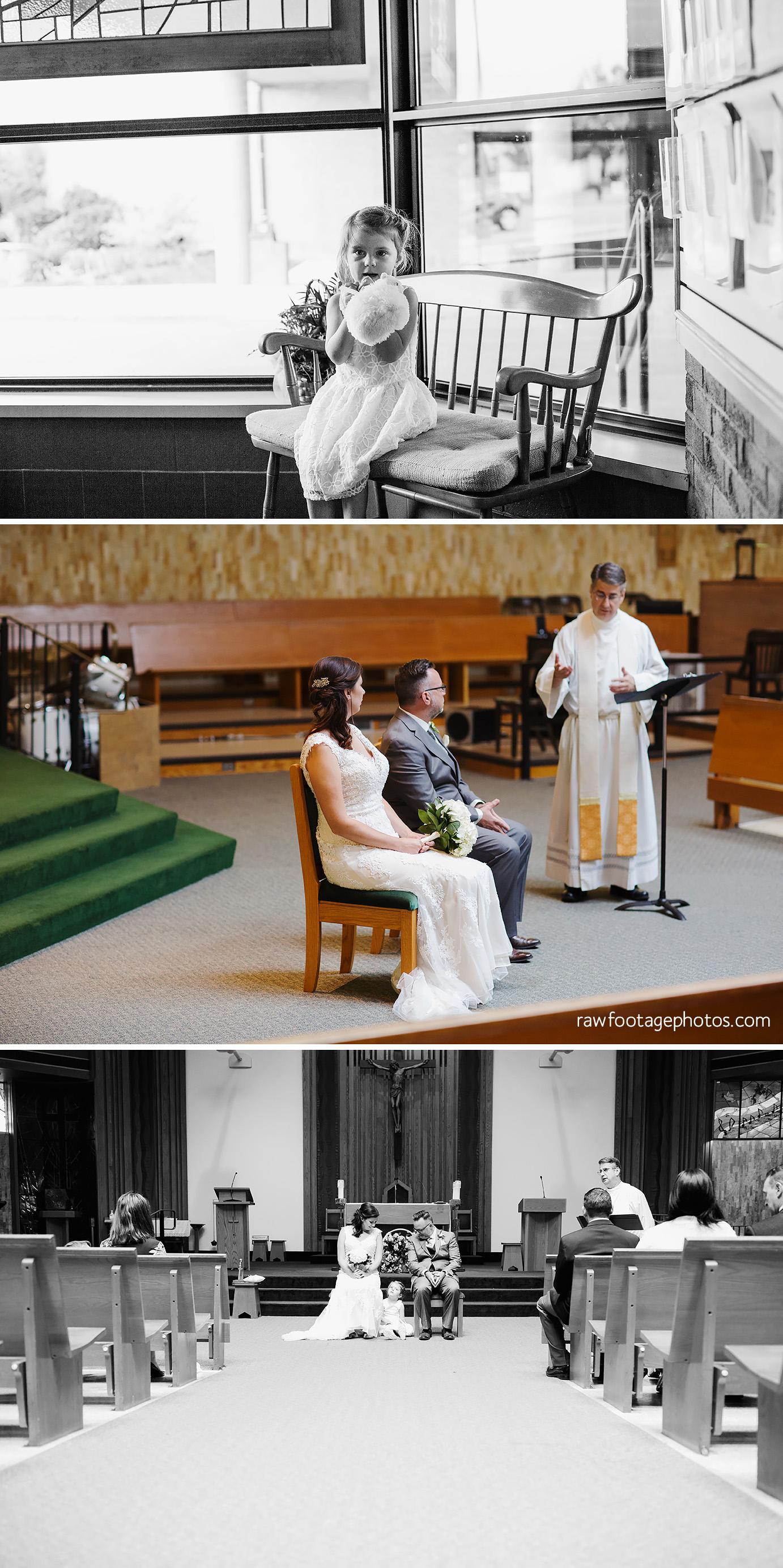 Ceremony at St Justin's Parish
