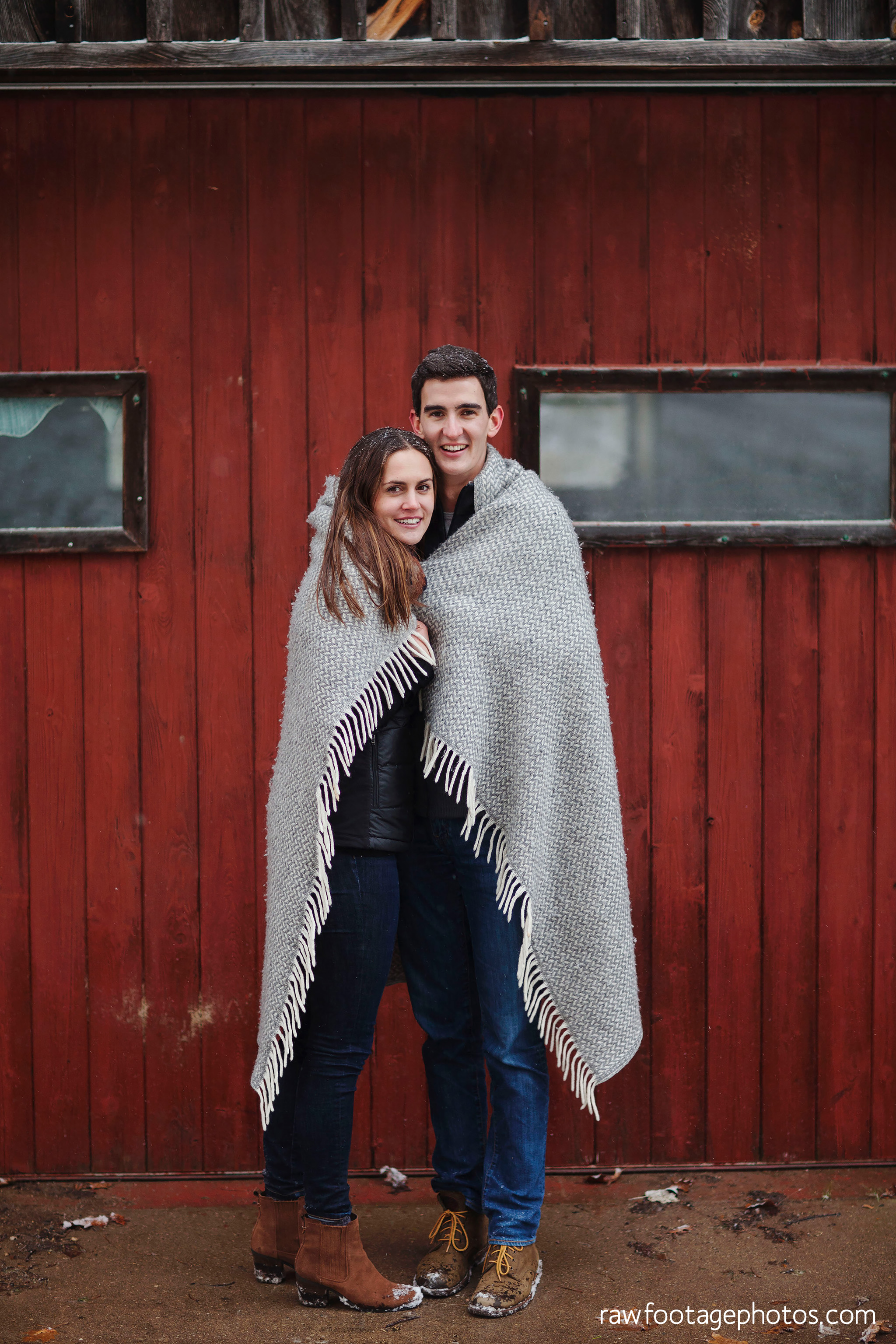 london_ontario_wedding_photographer-snowy_engagement_session-winter-barn-farm-snowflakes-blizzard-raw_footage_photography025.jpg