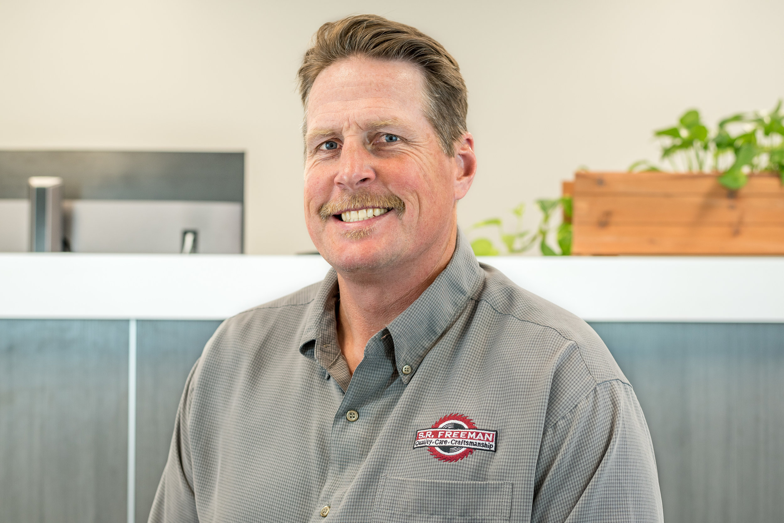 Mike LewisVice President - Mike has been at S.R. Freeman since 1998. A carpenter since the age of 14, Mike has a reputation for getting things done and puts that skill to work building effective teams and collaborative relationships. His deep roots in the industry have proven to be an invaluable resource to his team members and to S.R. Freeman clients. Outside of work, he enjoys chess, surfing, and CrossFit.