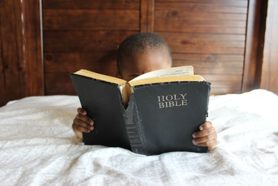 """""""Start children off on the way they should go, and even when they are old they will not turn from it."""" (Proverbs 22:6 NIV)."""