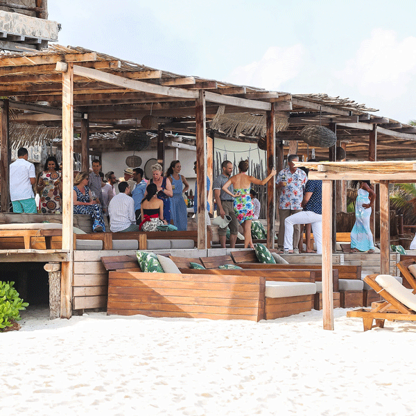 family reunions - Why not choose to do your birthday or anniversary as a destination celebration in Tulum? Bring your friends and family along to celebrate your special occasion in the middle of paradise. Tulum is super easy to get to,and we love to work with you to host big birthdays, anniversaries and family gatherings of all sizes