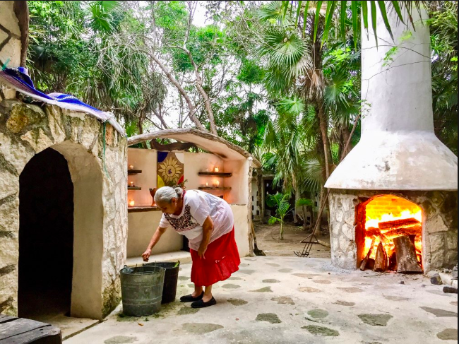 Mayan Temazcal - An ancient steam bath with curative and therapeutic benefits. Believed to balance and detoxify the body mind and spirit. This ceremonial practice has been used as a ritual to let go of anything that is holding you back.$85 usd /pp
