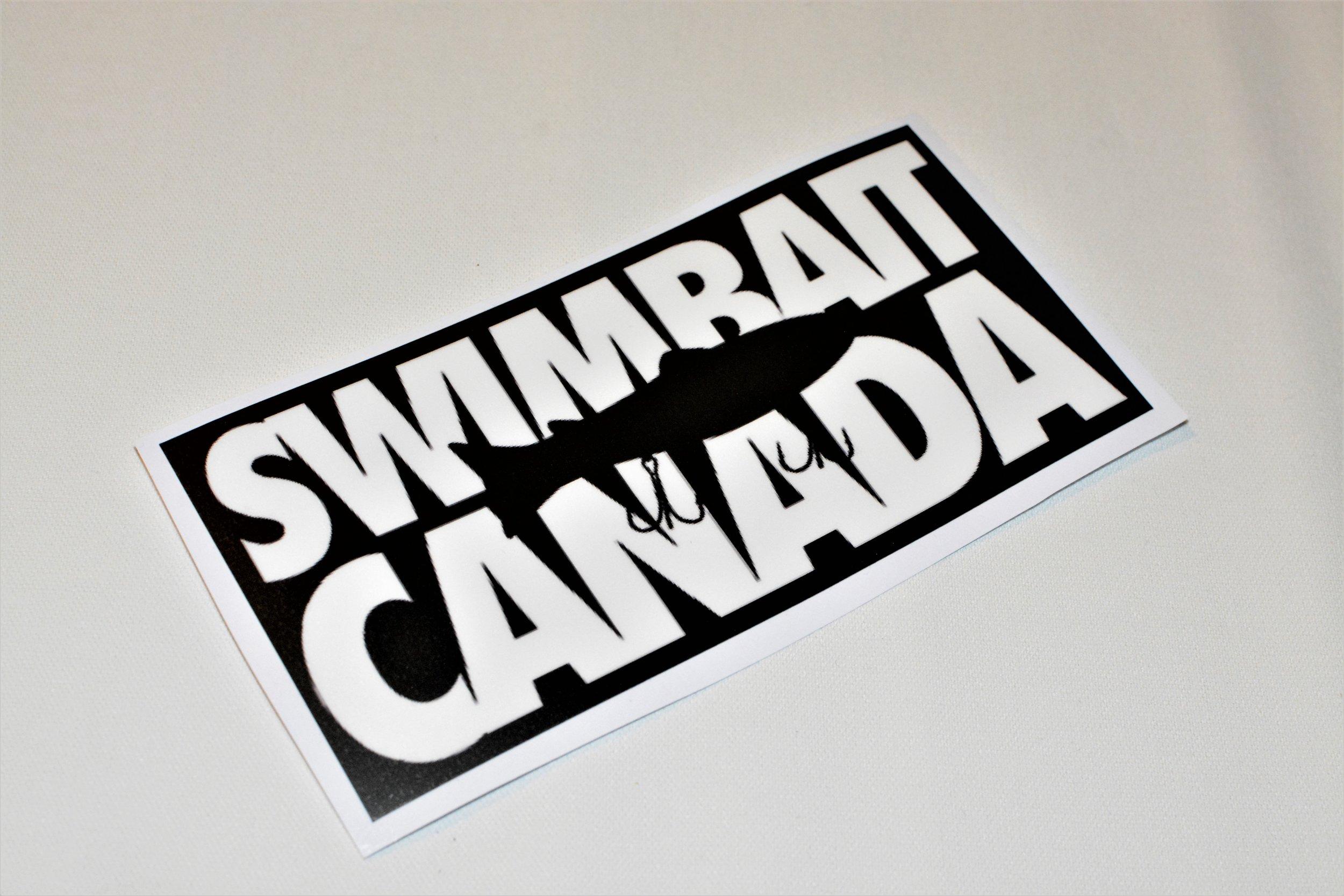 swimbait canada classic sticker