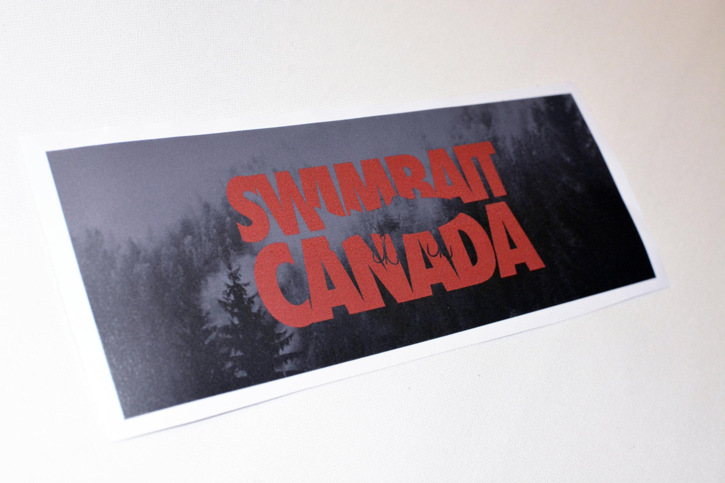 swimbait canada sticker