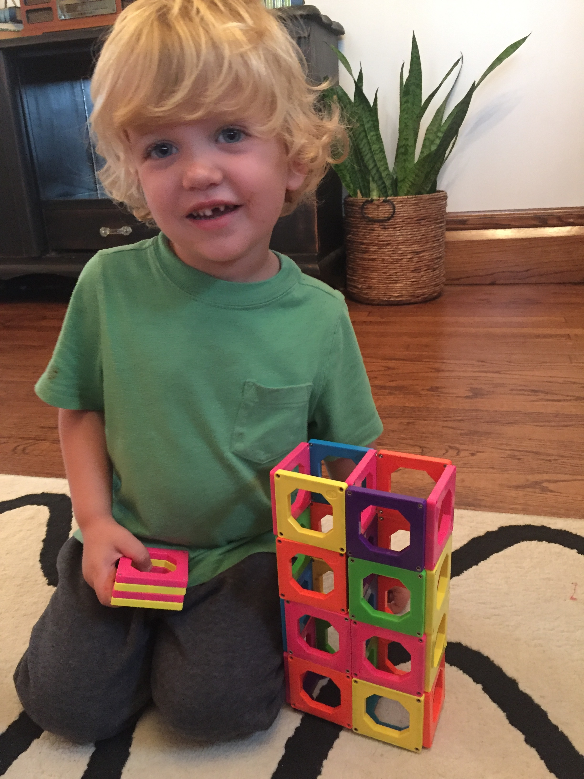 Magnetic Kids Building Blocks