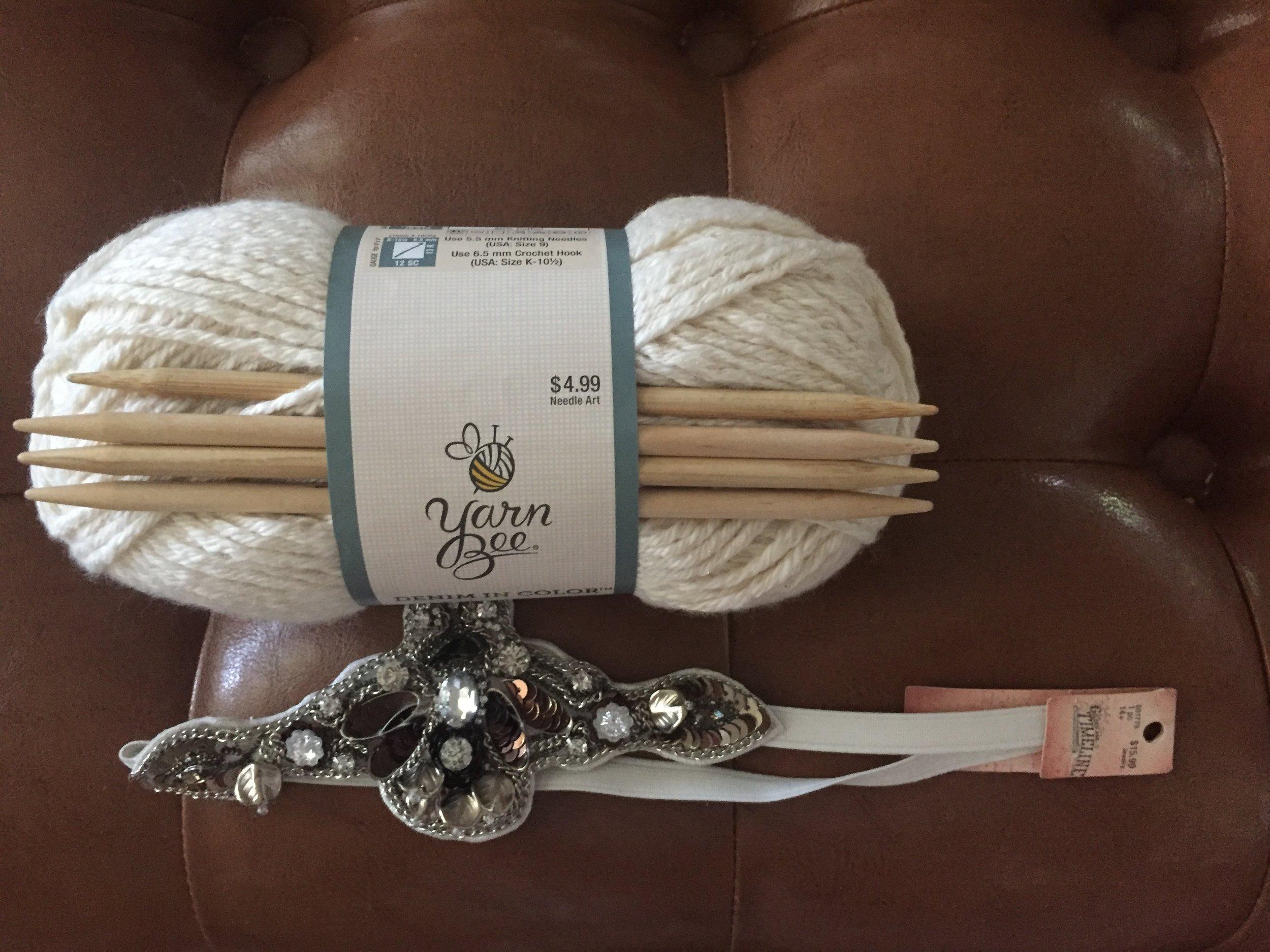 DIY Turban Style Ear Warmer Vintage Free Pattern Knit How-To