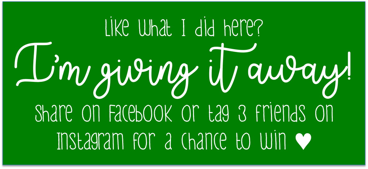 Or… subscribe to my blog for an entry!