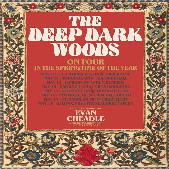 Trundling down the line with the @deepdarkwoods starting this Friday!