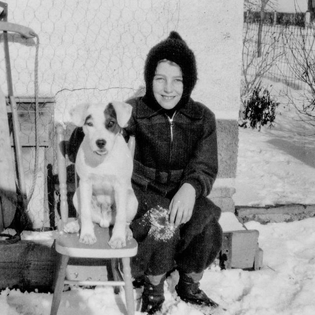 Today we honoured my beloved grandmother Yvonne, who past away on on May 19th. Here is one of my favourite photos of her and her pooch, taken in her hometown of Carlyle, Saskatchewan. Dec 27, 1928 - May 19, 2019