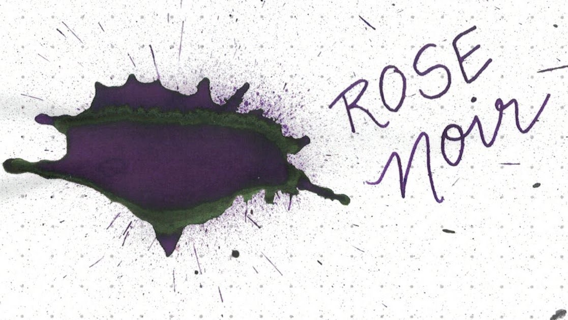5. Rose Noir - A dusty purple-black with modest green sheen.