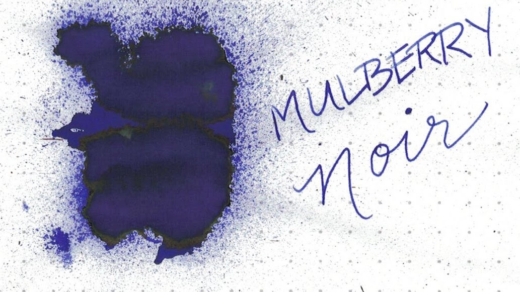 3. Mulberry Noir - A vibrant, electric purple-black with green and black sheen.