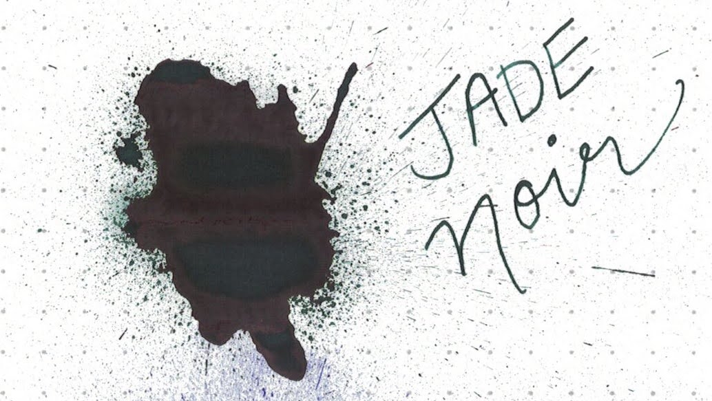 2. Jade Noir - A rich green-black with purple sheen.