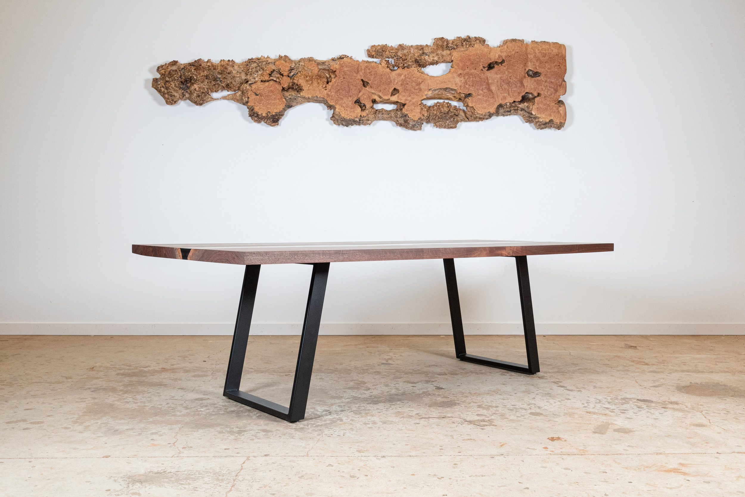 Black Water Resin Dining Table - $12,400