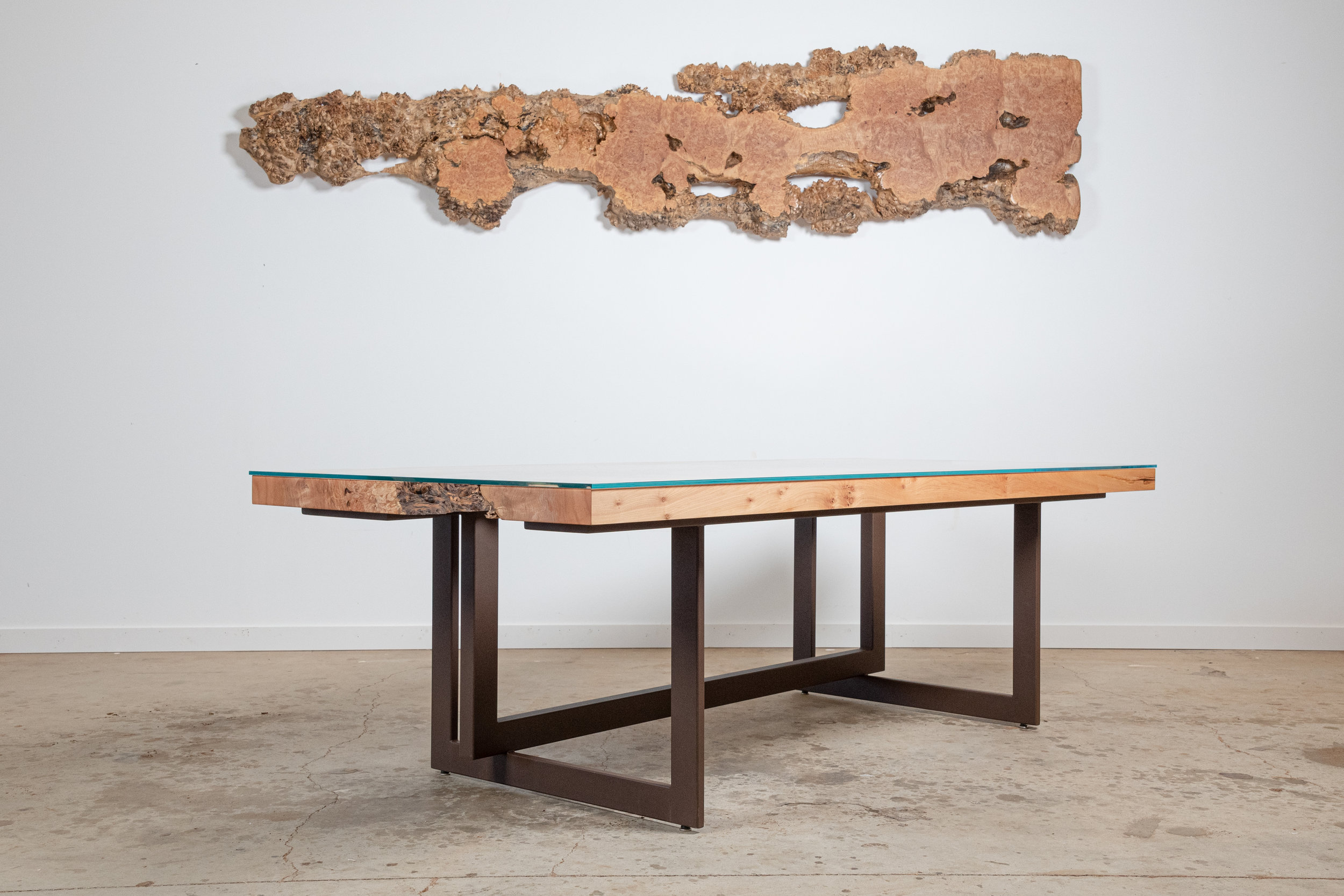 Burled Maple Air Canyon Dining Table - $17,000