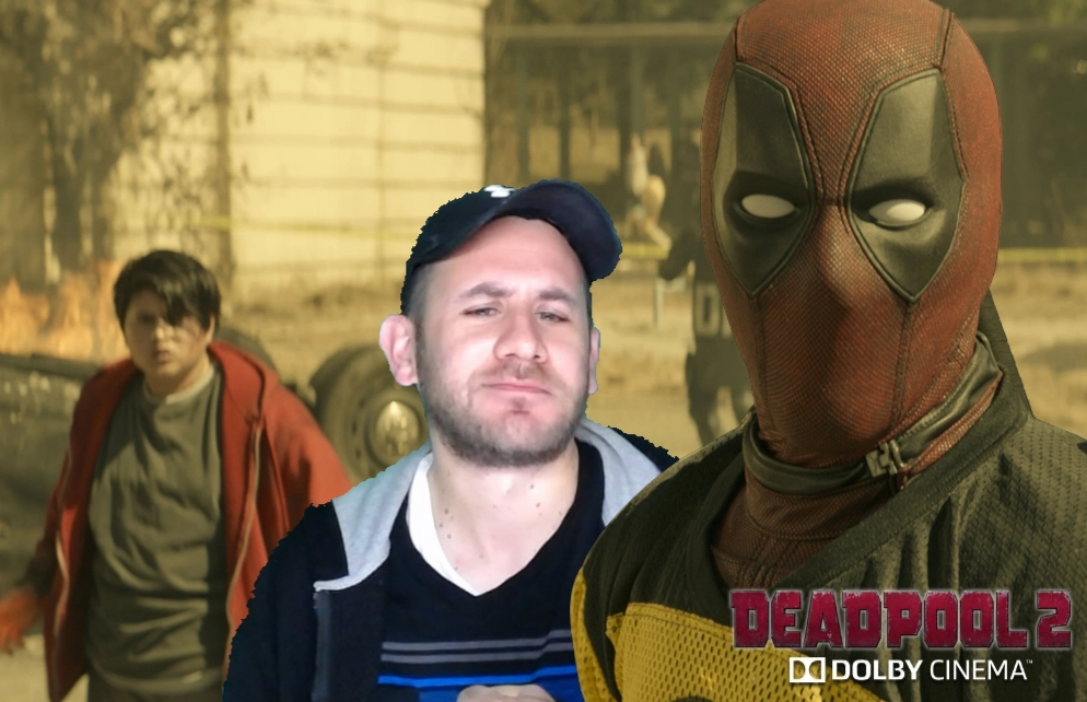 Photobooth picture from the Deadpool 2 flick.