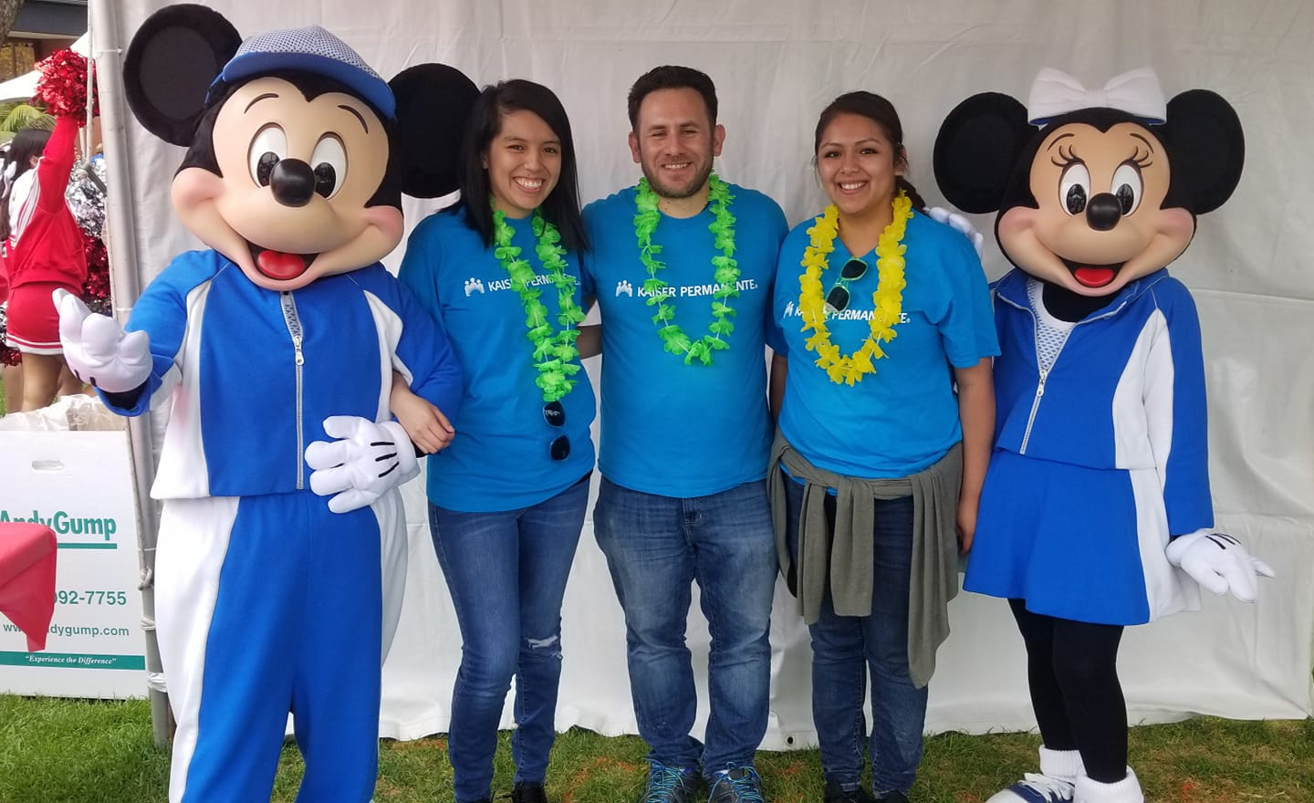 Volunteering for the 2019 Special Olympics with Kaiser Permanente 6-8-2019