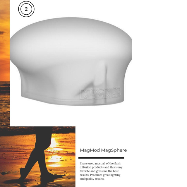Magmod Magsphere photography product