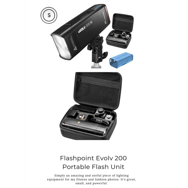 Adorama Flashpoint Portable Flash unit Photography product