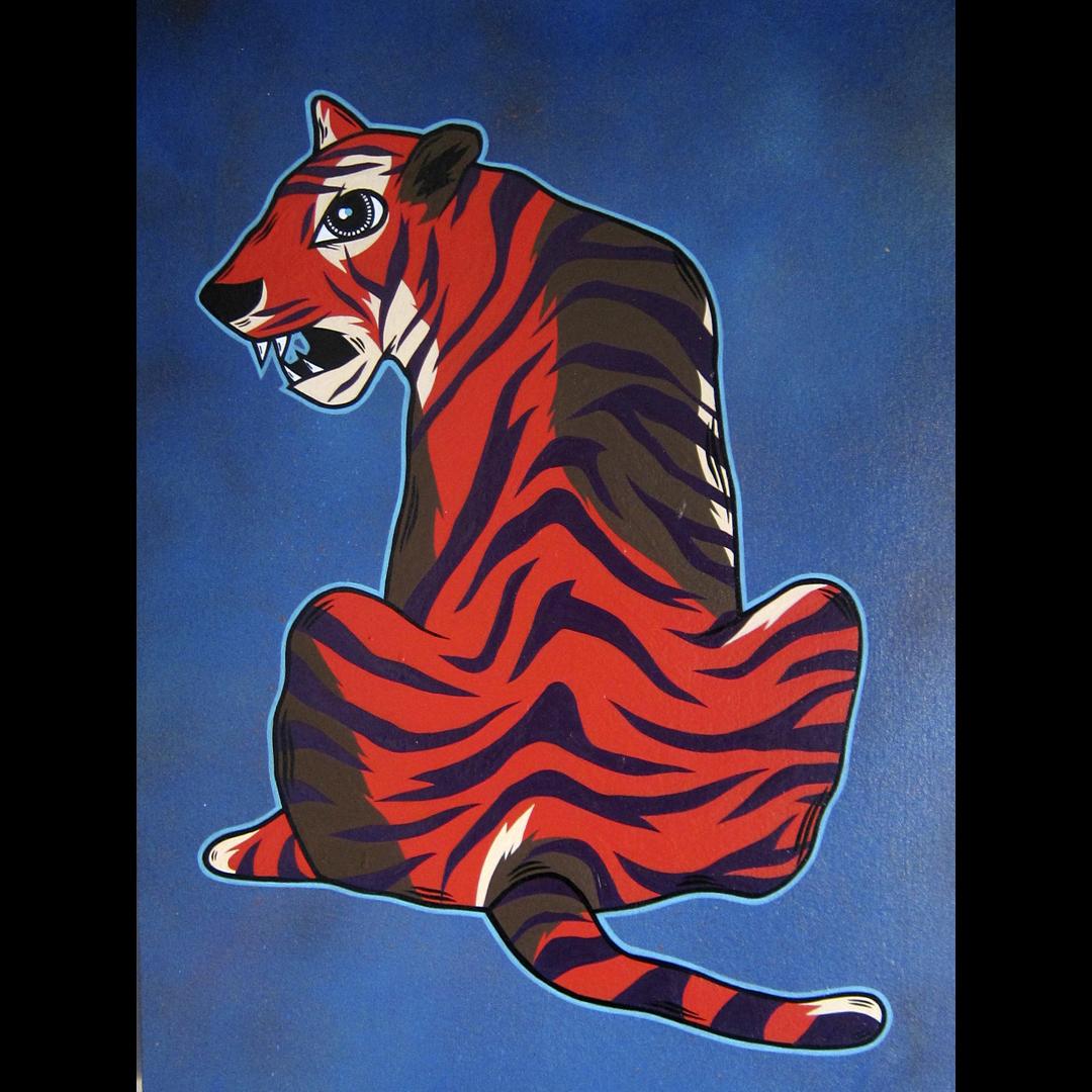 A Tiger Named Lightning