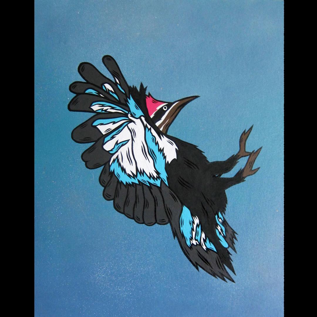 Wesley The Woodpecker