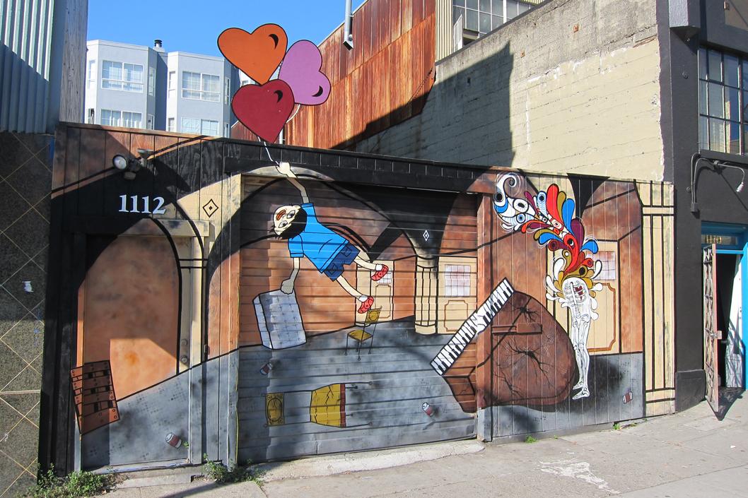 Dekay. Street Art: 1112 Howard St.